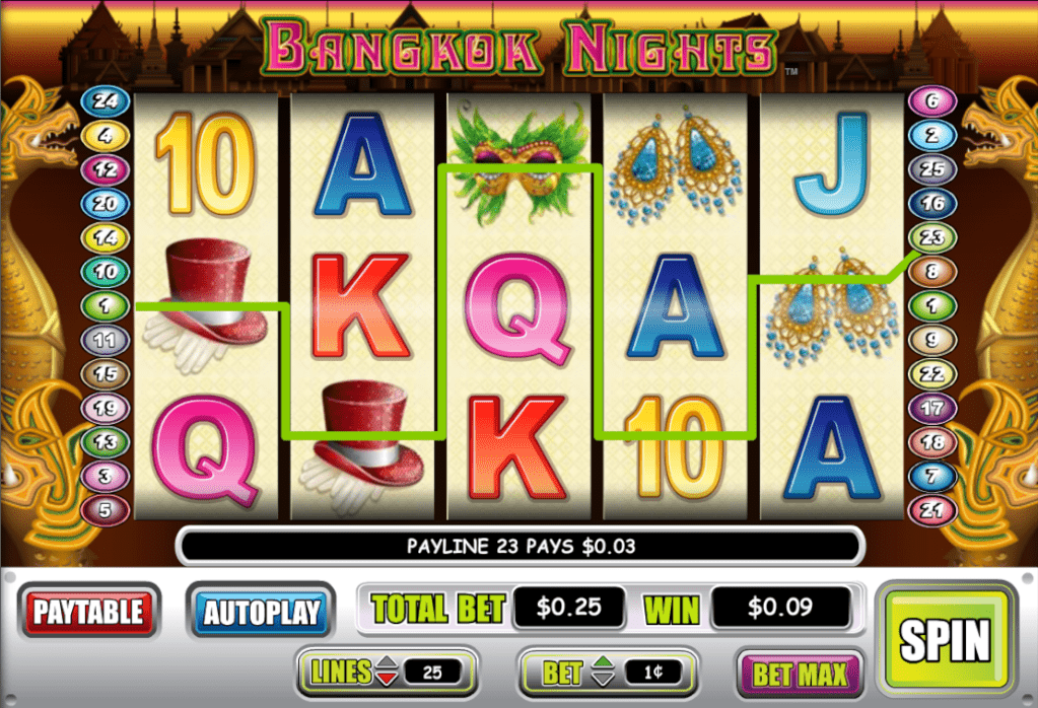 Lincoln Casino Liberty Slots WGS Bangkok Nights