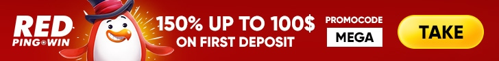 RED PingWin Casino 175% up to €100 First Deposit Bonus