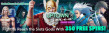 Uptown Aces 350 Slots Gods FREE Spins Pack
