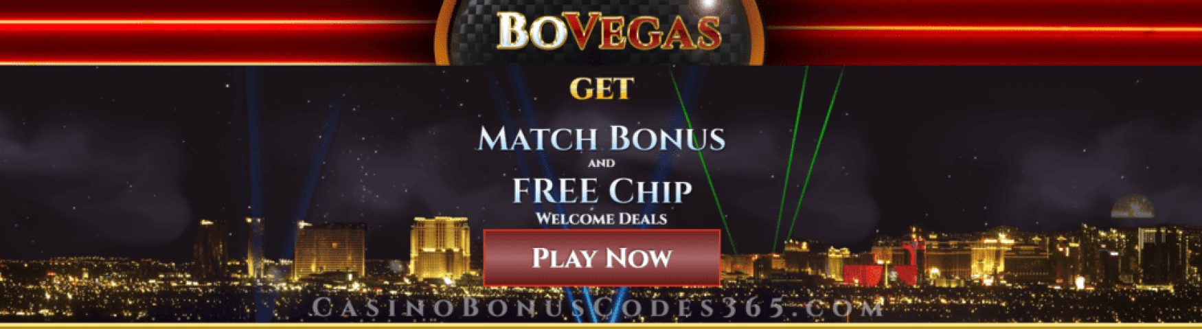 BoVegas Casino RTG US Friendly Daily Match Bonus and No Deposit FREE Chip