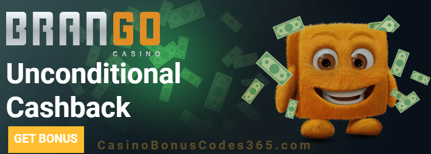 Casino Brango 15% Unconditional Cashback
