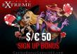 Casino Extreme $50 FREE Chip Sign Up Bonus