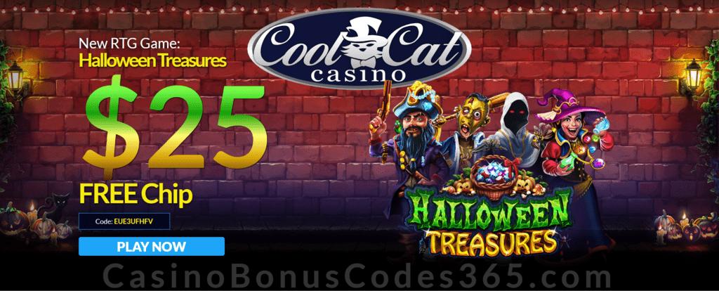 Coolcat Casino 25 Free Chip Special No Deposit Offer Casino