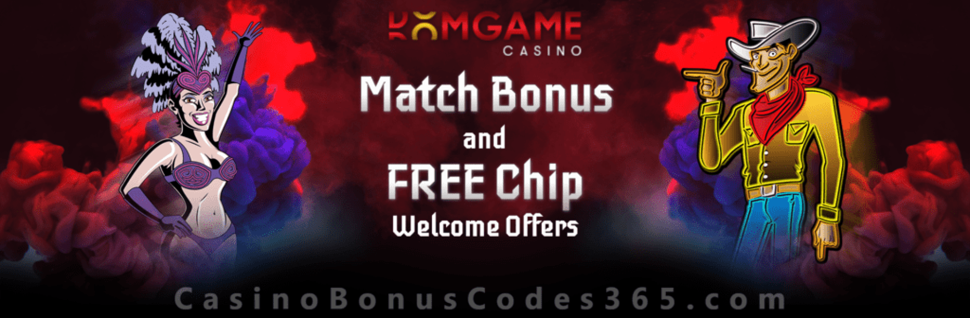 DomGame Casino Exclusive Daily Welcome Deal Match Bonus and FREE Chip