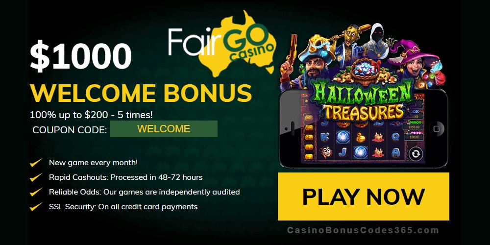 Fair Go Casino RTG Halloween Treasures