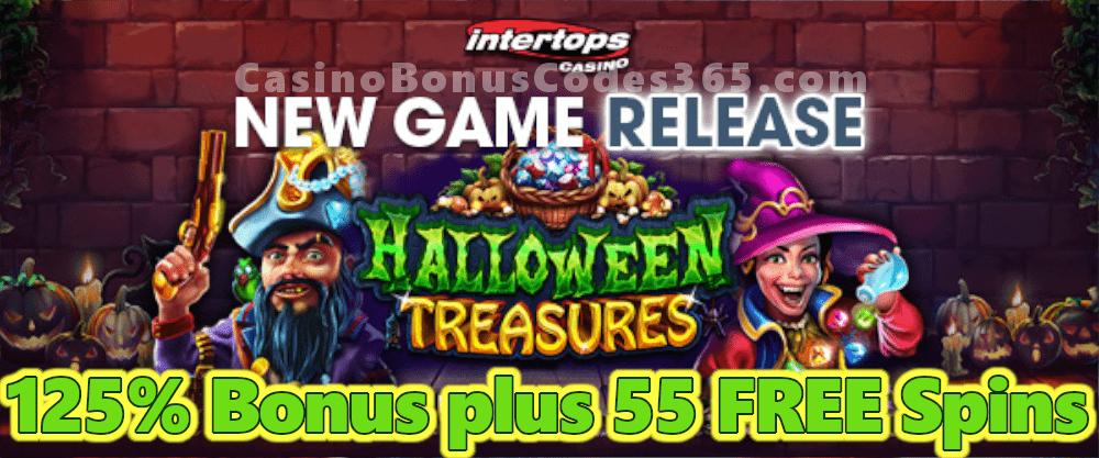 Intertops Casino Red 125 Bonus Plus 55 Free Spins On Halloween