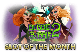 Intertops Casino Red RTG Bubble Bubble 2 October Slot of the Month