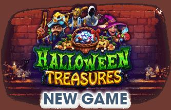 Slotastic Online Casino RTG Halloween Treasures