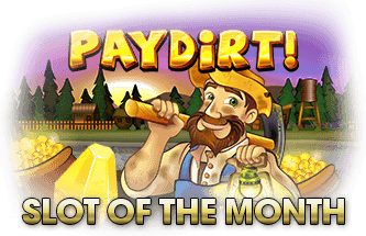 Intertops Casino Red RTG Paydirt November Slot of the Month