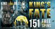 King Billy Casino King's Fate 151 FREE Spins