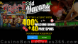 Old Havana Casino 400% Bonus plus 40 FREE RTG Return of the Rudolph Spins Special Thanksgiving Special Deal Special Deal