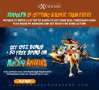 Casino Extreme 150% Match plus 50 FREE Spins Rudolph Awakens New RTG Game Promo