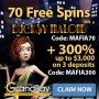 Casino Grand Bay 70 FREE Spins on Saucify Bucksy Malone plus 300% Match Bonus Welcome Deal