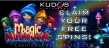 Kudos Casino New RTG Game 35 FREE Magic Mushroom Spins Special New RTG Game Offer
