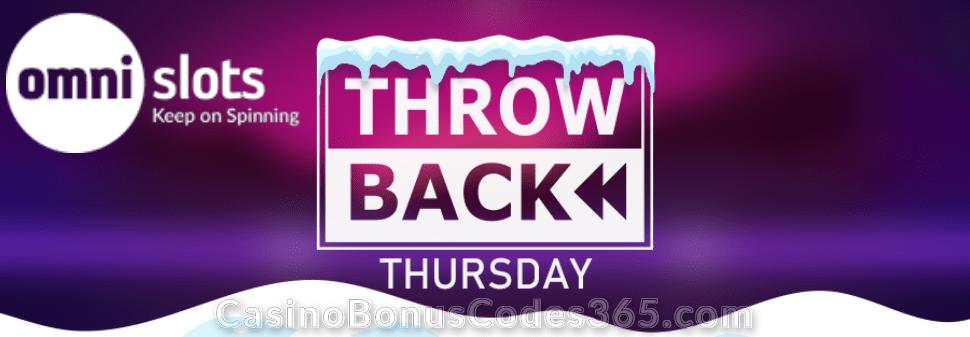 Omni Slots Throwback Thursday Bonus