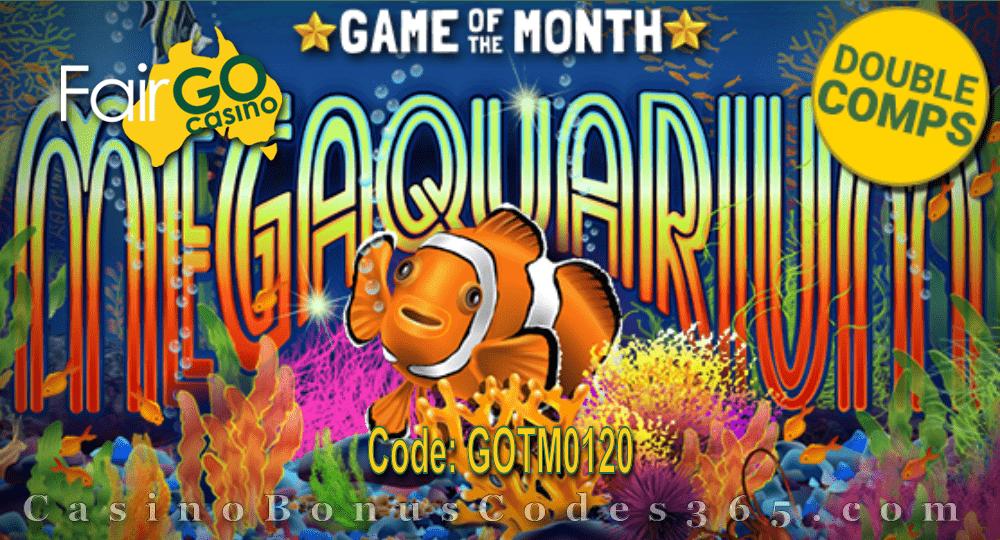 Fair Go Casino January Game of the Month RTG Megaquarium