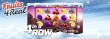 Fruits4Real 4 in a Row Bonus