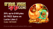 Grande Vegas Casino 25% up to $100 plus 50 FREE Spins on RTG Lucha Libre 2 Special Offer