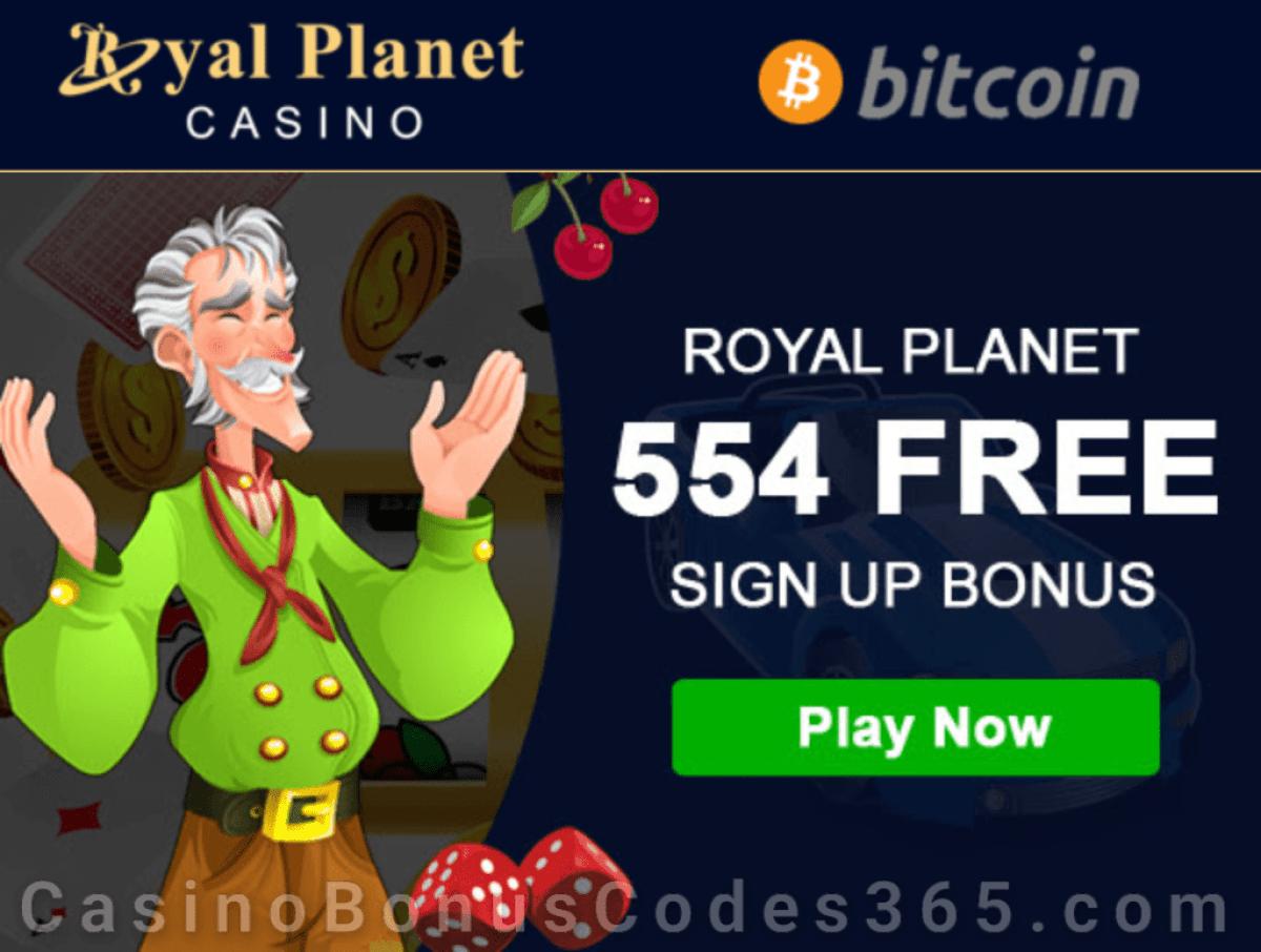 Royal Planet Casino 554 Royal Bonus