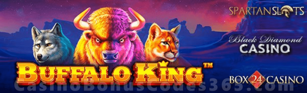 Box 24 Casino Black Diamond Casino Spartan Slots Pragmatic Play Buffalo King