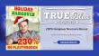 True Blue Casino 230% Match Holiday Hangover No Playthrough Bonus