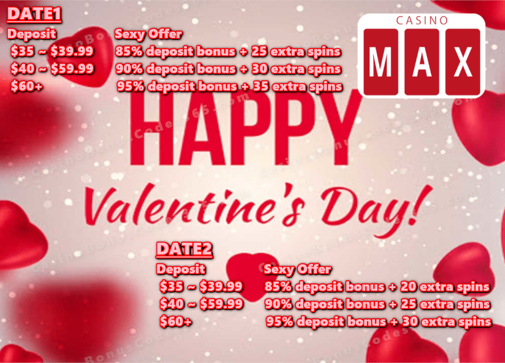 Casino Max Blind Date For Valentine S Day 2020 Special Offer