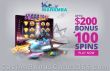Karamba Casino $200 Bonus plus 100 Spins Welcome Package NetEnt Starburst