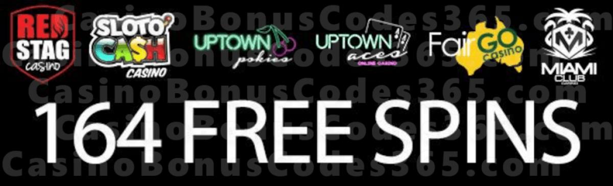 SlotoCash Casino Uptown Aces Uptown Pokies Fair Go Casino Miami Club Casino Red Stag Casino 164 Massive FREE Spins