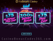 Hallmark Casino Betsoft Total Overdrive $150 FREE Chip plus 300% Match Bonus Special Promo