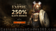 Slots Empire 250% Slots Bonus Welcome Deal