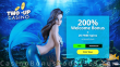 Two-up Casino 200% Match plus 25 FREE Spins on RTG Mermaid's Pearls Sign Up Deal