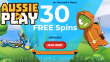AussiePlay Casino 30 FREE RTG Mermaid's Pearls Spins New Players Welcome Deal