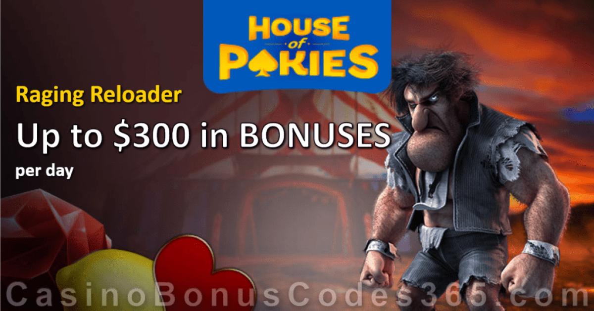 House of Pokies $300 Bonuses Everyday!