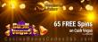 Mandarin Palace Online Casino 50 FREE Spins on Saucify Cash Vegas Special No Deposit Deal