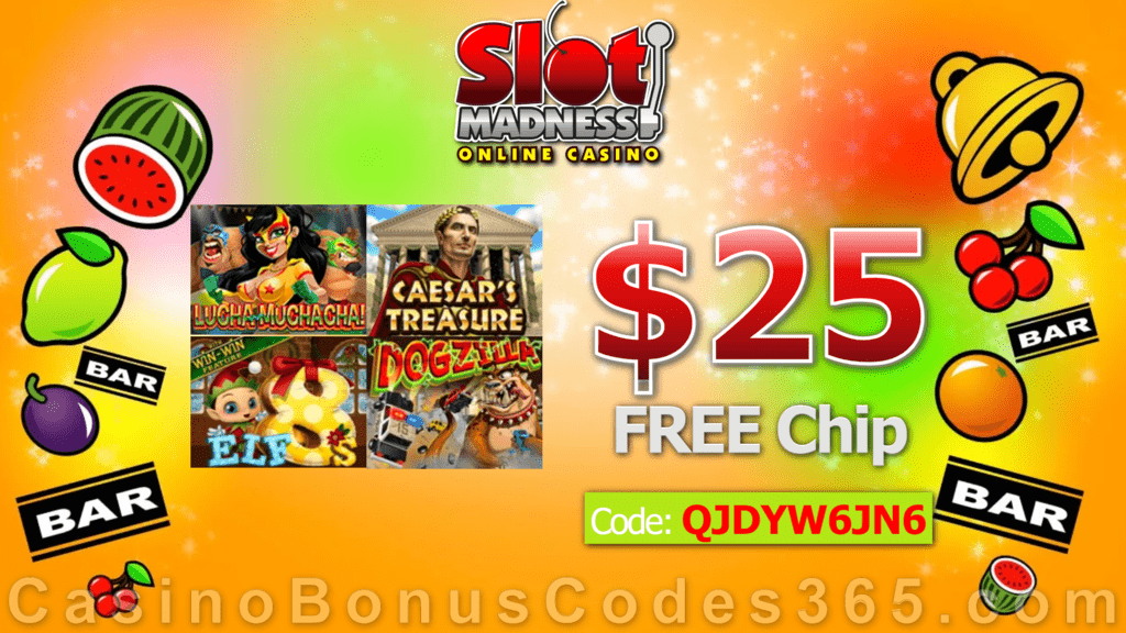 Slot Madness No Deposit Bonus Codes 2020