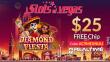 Slots of Vegas $25 FREE Chip No Deposit Offer RTG Diamond Fiesta