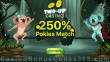 Two-up Casino 250% Match Welcome Bonus