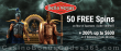 Bella Vegas Casino 50 FREE No Deposit Spins on Saucify Rise of Spartans plus 200% Match Bonus Welcome Deal