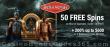 Bella Vegas Casino 50 FREE No Deposit Spins on Saucify Rise of Spartans plus 200% Match Bonus Welcome Deal
