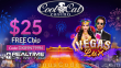 CoolCat Casino Vegas Lux New RTG Game Special $25 FREE Chip No Deposit Deal