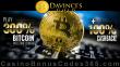 Da Vinci's Gold 300% Match plus 100% Cashback Bitcoin Welcome Bonus