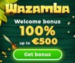 Wazamba €500 Bonus plus 200 FREE Spins on top Welcome Deal