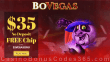 BoVegas Casino $35 FREE Chip Exclusive No Deposit Sign Up Offer