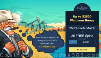 Win A Day Casino 36 Free Chip Plus 250 Match Bonus Welcome Deal Casino Bonus Codes 365