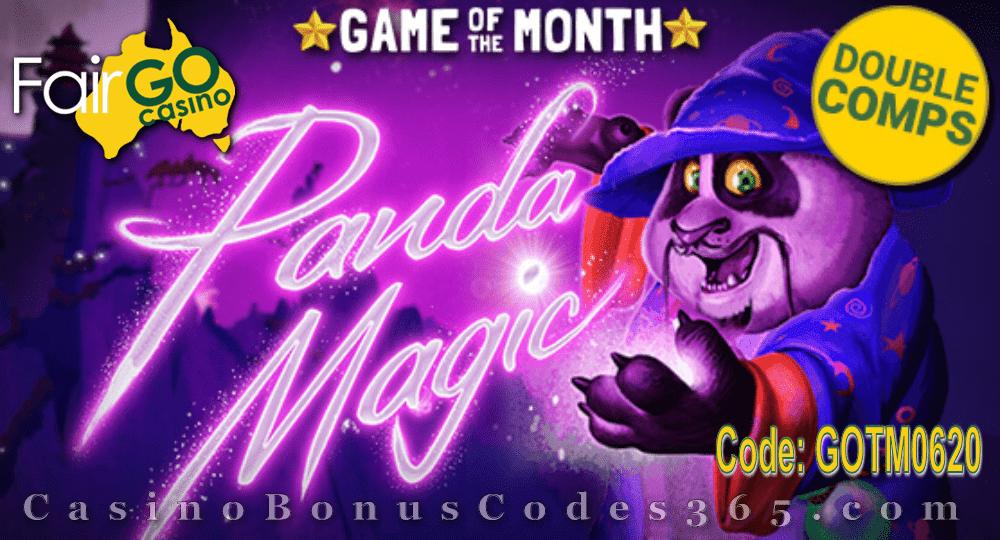 Fair Go Casino June Game of the Month RTG Panda Magic