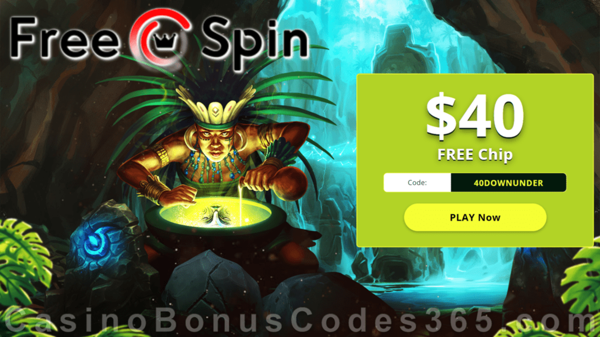 Free Spin Casino 40 Free Chip Exclusive No Deposit Deal Casino