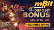 mBit Casino 110% First Crypto Deposit Bonus