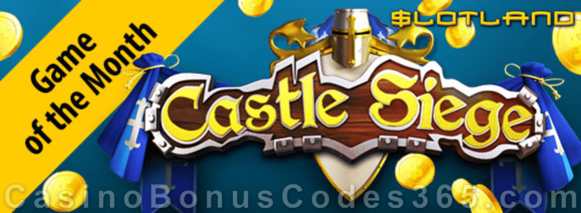 Slotland Casino Castle Siege June Game of the Month