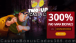 Two-up Casino Exclusive 300% Match No Max Welcome Bonus