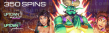 Uptown Aces Uptown Pokies 350 Wishes FREE Spins Bonus Pack RTG 5 Wishes Aladdin's Wishes